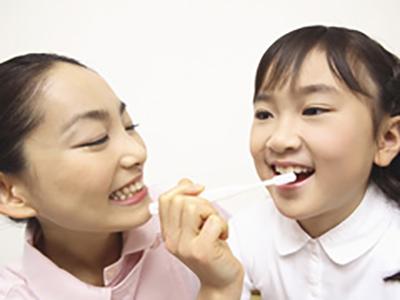 お子様の歯を守る方法